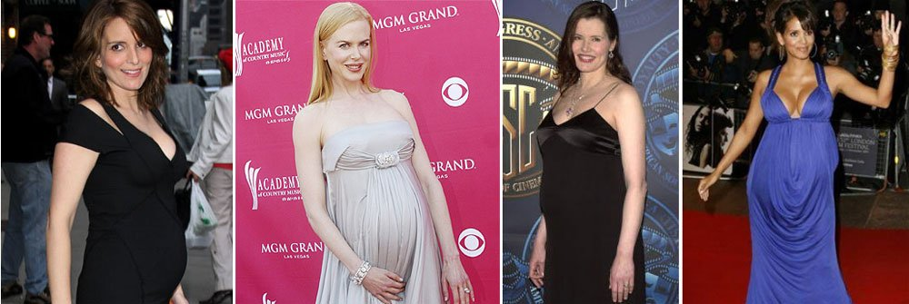 Quedarse embarazada entre los 30 y los 45 años