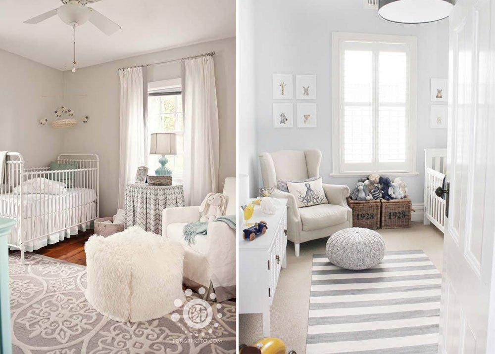 9 habitaciones de beb en colores pasteles - Ideas para pintar una habitacion de nino ...