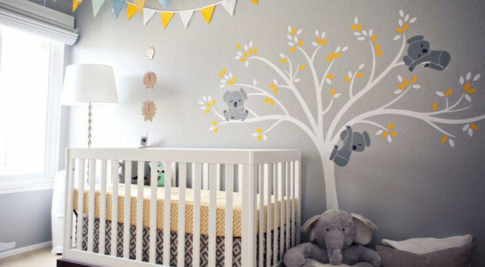 9 habitaciones de beb en colores pasteles - Ideas para decorar habitacion bebe ...