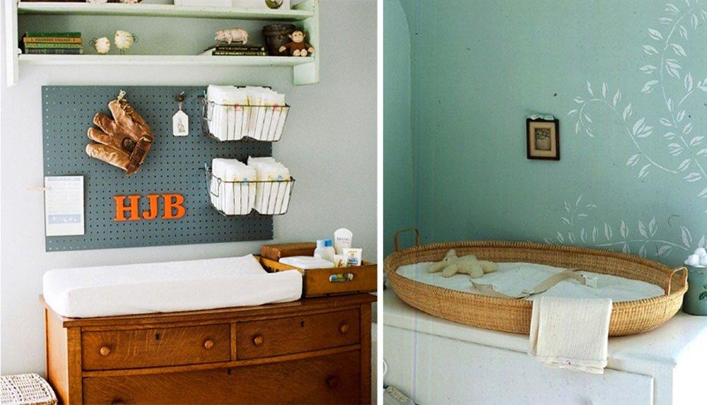 Cambiador ideas para la habitaci n del beb - Comoda cambiador bebe ...