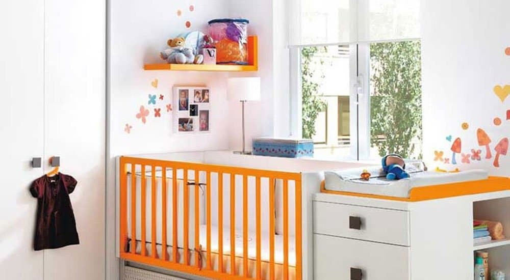 Cambiador ideas para la habitaci n del beb for Cuartos de nina recien nacida