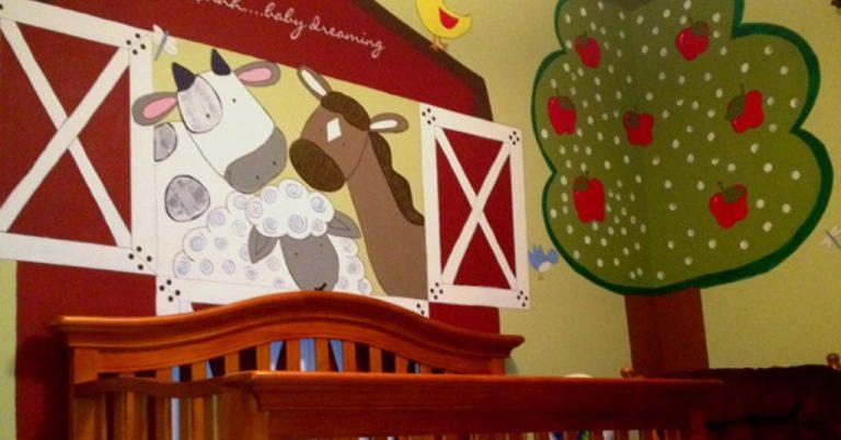 Decorar la habitación del bebé con animales