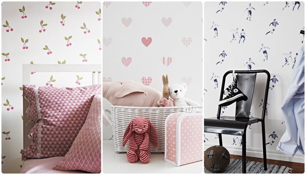 Papeles pintados libelly menudosbeb s for Papel decorativo para habitaciones