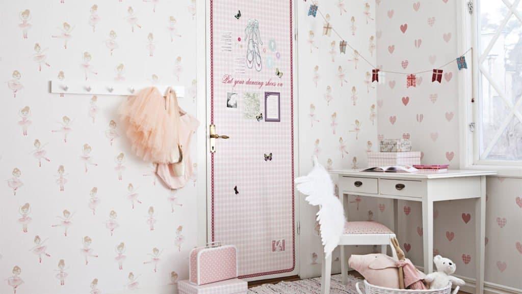 Papeles pintados para la habitaci n del beb muchobaby com - Papeles pintados bebe ...
