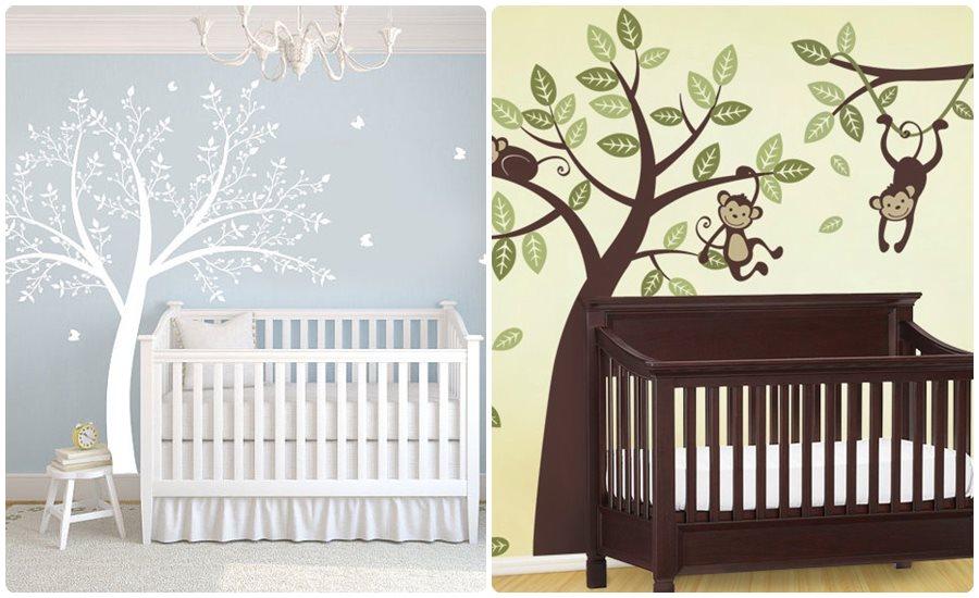 Vinilos infantiles en la habitaci n del beb for Vinilos en habitaciones infantiles