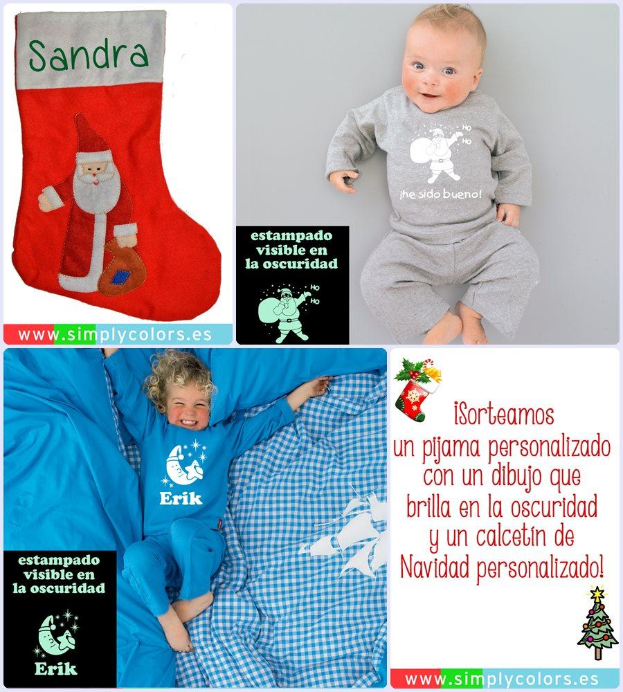 Sorteo de un pijama personalizado + un calcetín de Navidad personalizado