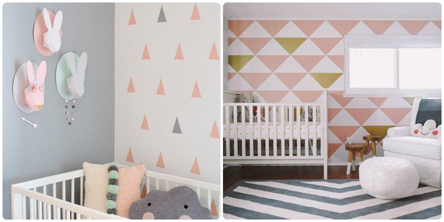 11 Ideas Para Pintar Una Habitacion De Bebe Menudos Bebes - Como-pintar-habitacion-infantil