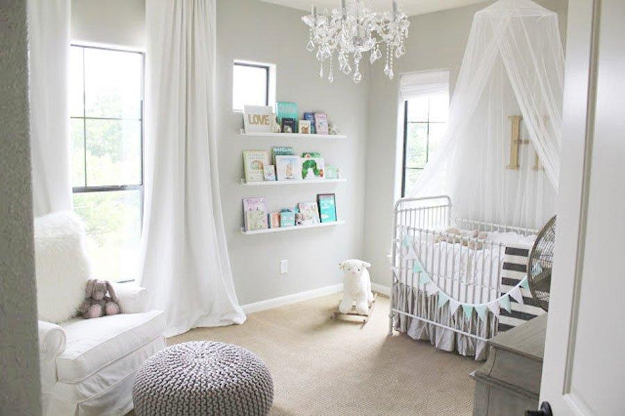 habitacin de beb nia decoracin