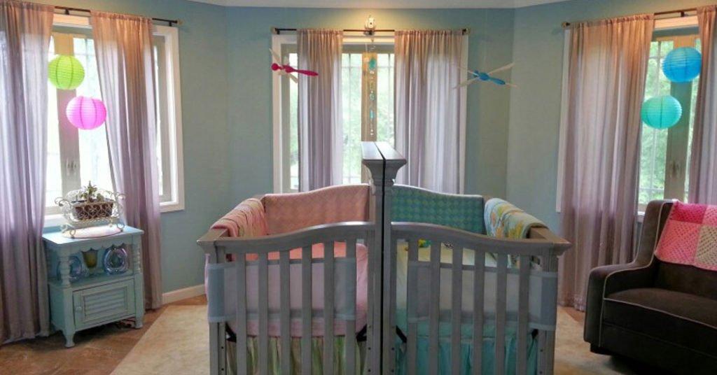 Cmo decorar habitaciones para gemelos Menudos Bebs