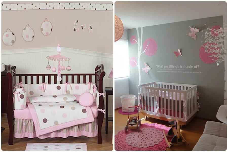 11 ideas para una habitaci n de beb ni a - Habitacion de bebe nina ...
