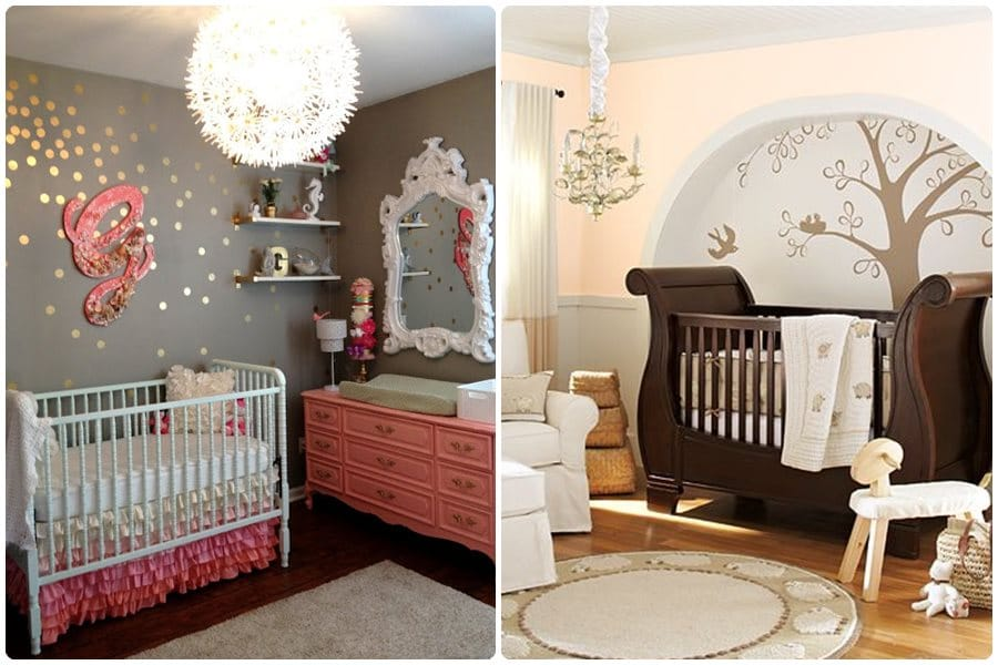 11 ideas para una habitaci n de beb ni a - Decoracion para bebes habitaciones ...