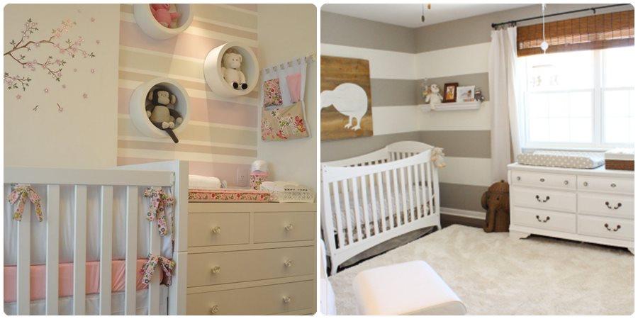 11 ideas para pintar una habitaci n de beb menudos beb s - Ideas para pintar una habitacion de bebe ...