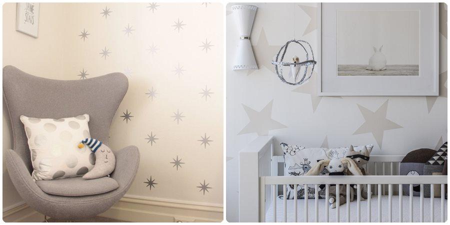 C mo pintar una habitaci n de beb - Ideas para pintar habitaciones infantiles ...