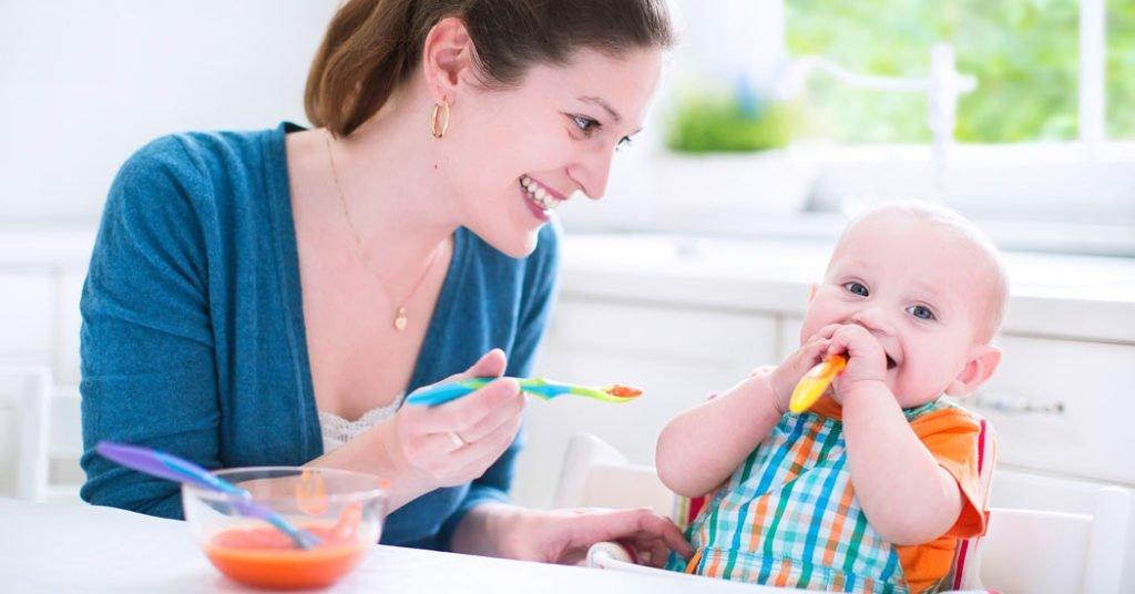 Verduras para bebés, introducción alimentos