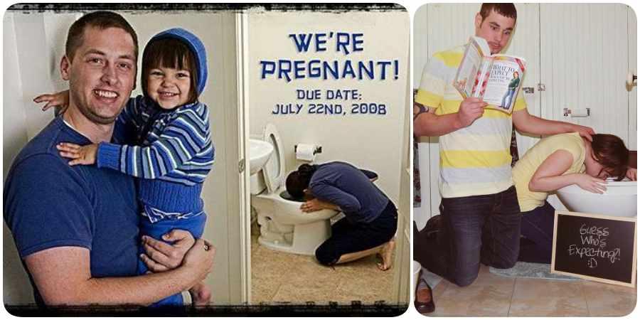 Fotos graciosas sobre el embarazo