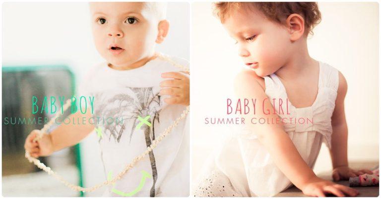 Moda para bebés Ikks verano 2015