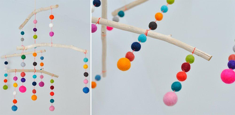 Image gallery movil para bebes - Manualidades con fieltro para ninos ...