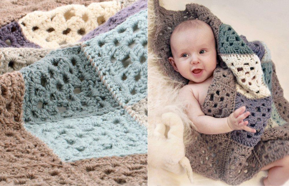 Ganchillo: 5 patrones gratis para bebés | Menudosbebes.com