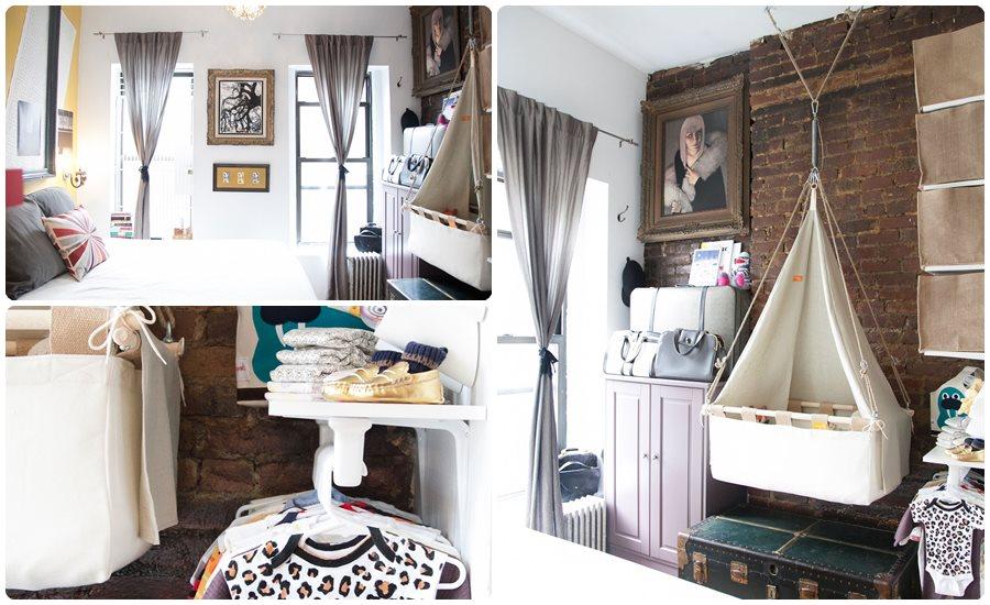 Habitaciones para beb s en pisos peque os - Habitaciones ninos pequenas ...