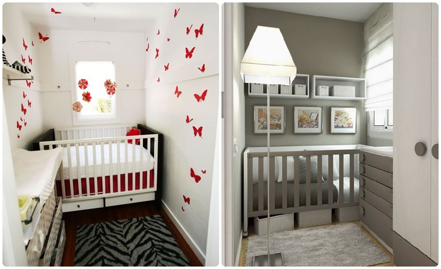 Habitaciones para beb s en pisos peque os - Ideas para amueblar una habitacion pequena ...