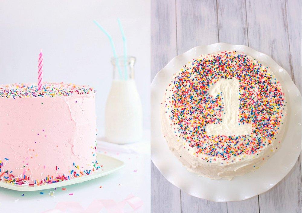Tartas fáciles para el primer cumpleaños   Menudosbebes.com