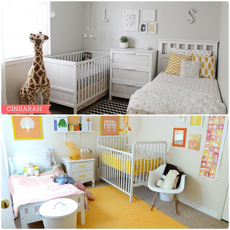 10 habitaciones compartidas por un beb y su hermano - Decoracion habitacion infantil nino ...