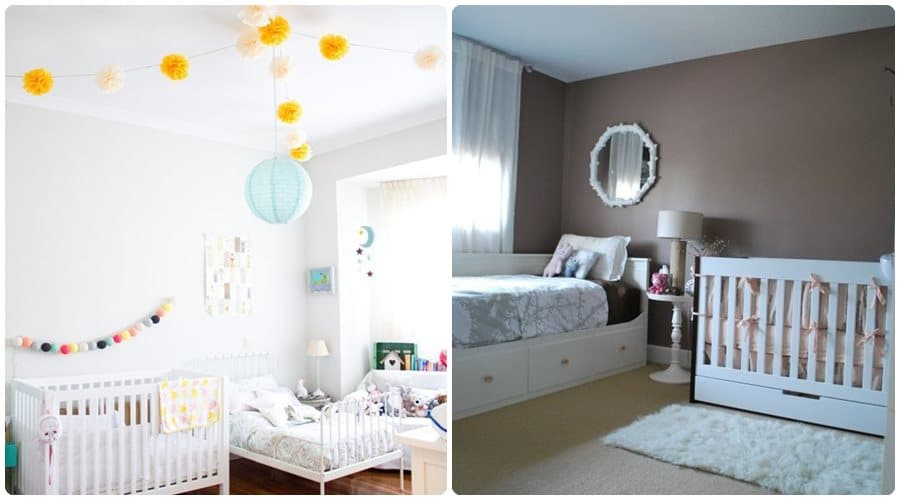 10 habitaciones compartidas por un beb y su hermano - Habitaciones infantiles unisex ...