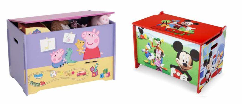Ba les infantiles para mantener la habitaci n en orden - Baules baratos madera ...
