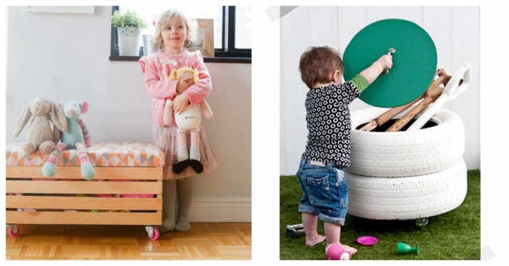 Ba les infantiles para mantener la habitaci n en orden - Baules para ninos ...