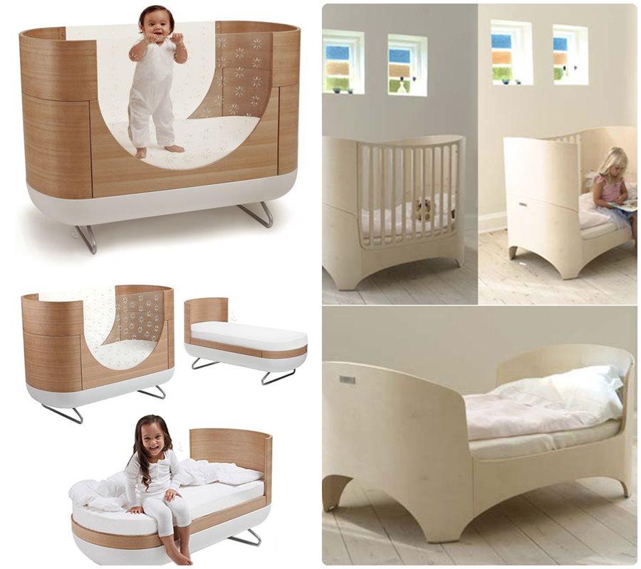 Habitacion habitacion de bebe con cuna convertible - Habitacion convertible bebe ...