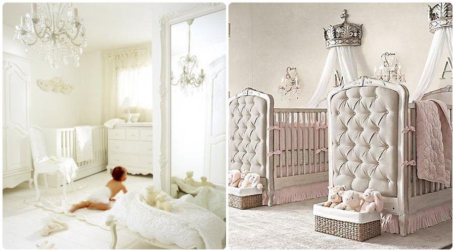 13 habitaciones de beb de ensue o - Habitaciones infantiles en blanco ...