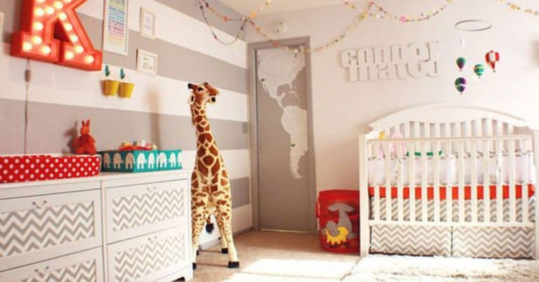 Decorar la habitación del bebé