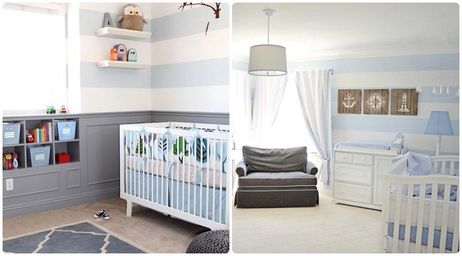 13 habitaciones de beb de ensue o - Color paredes habitacion bebe ...