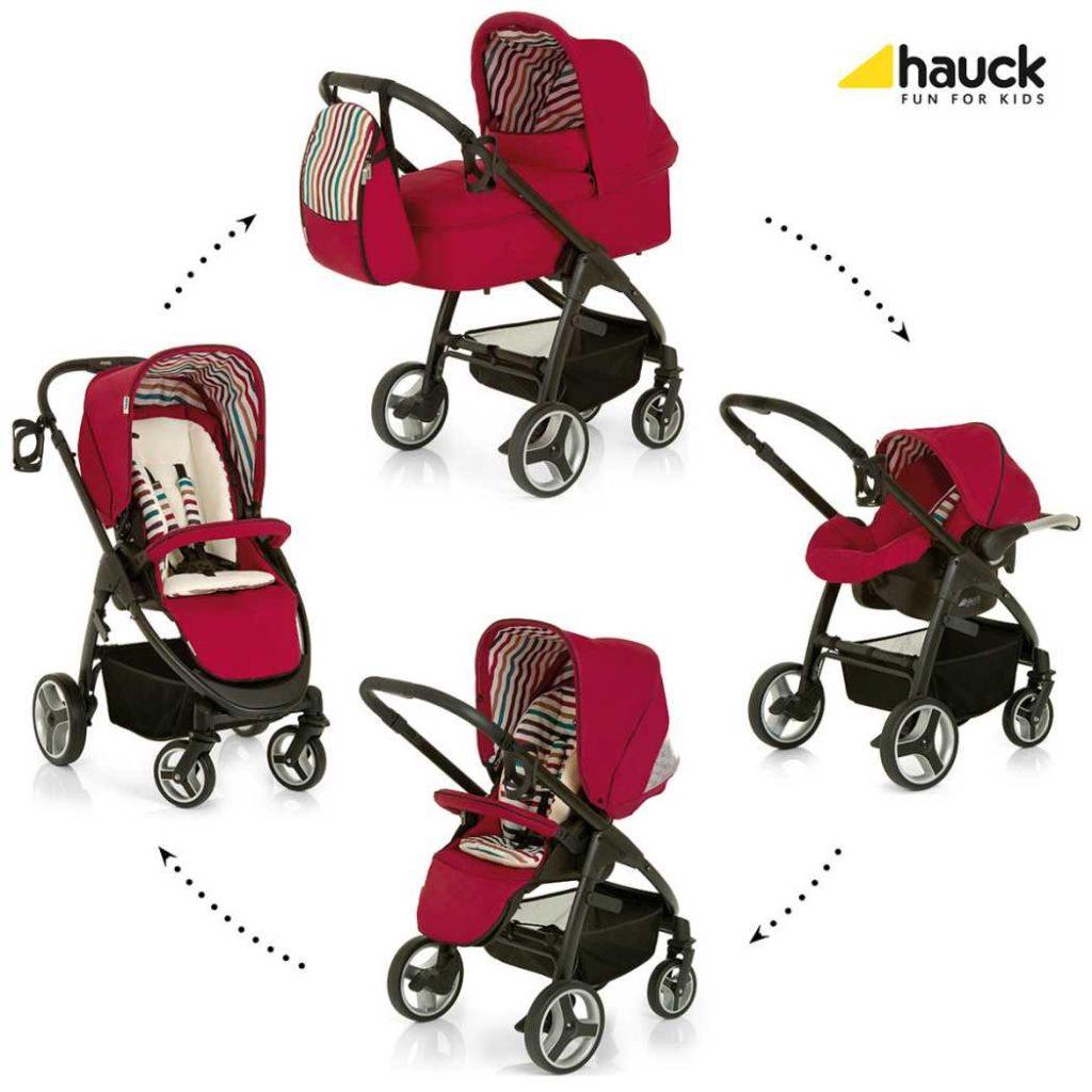 Hauck, carritos de bebé trío