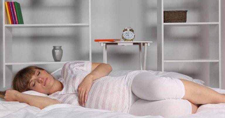 Consejos para dormir bien en el embarazo