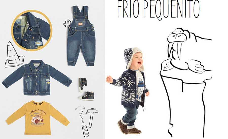 Moda para bebés otoño 2015