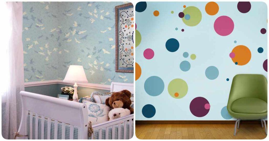 Stencil ideas de decoraci n para la habitaci n del beb - Decoracion paredes habitacion infantil ...
