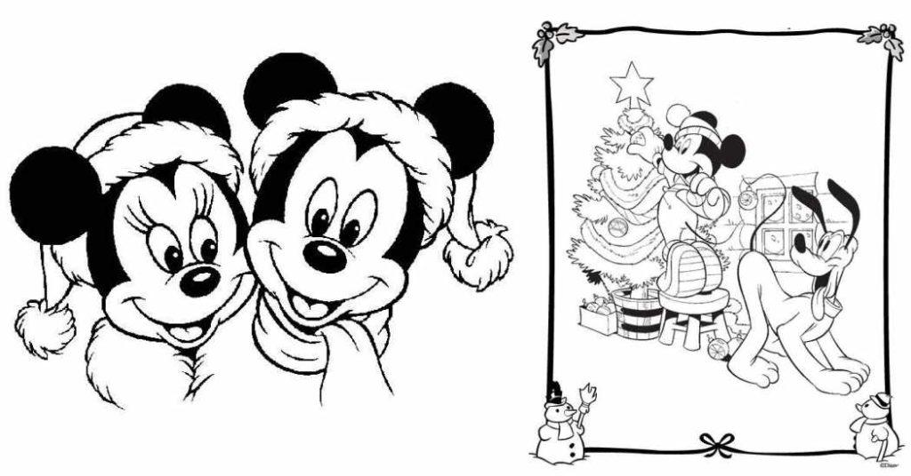 10 dibujos disney de navidad para colorear for Dibujos de figuras de navidad para colorear