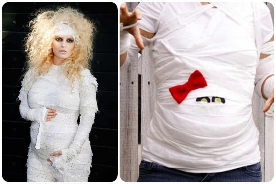 14 Disfraces De Halloween Para Embarazadas - Disfraces-de-halloween-para-embarazadas