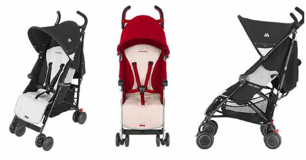 Maclaren quest una silla de paseo desde el nacimiento for Coche de paseo maclaren