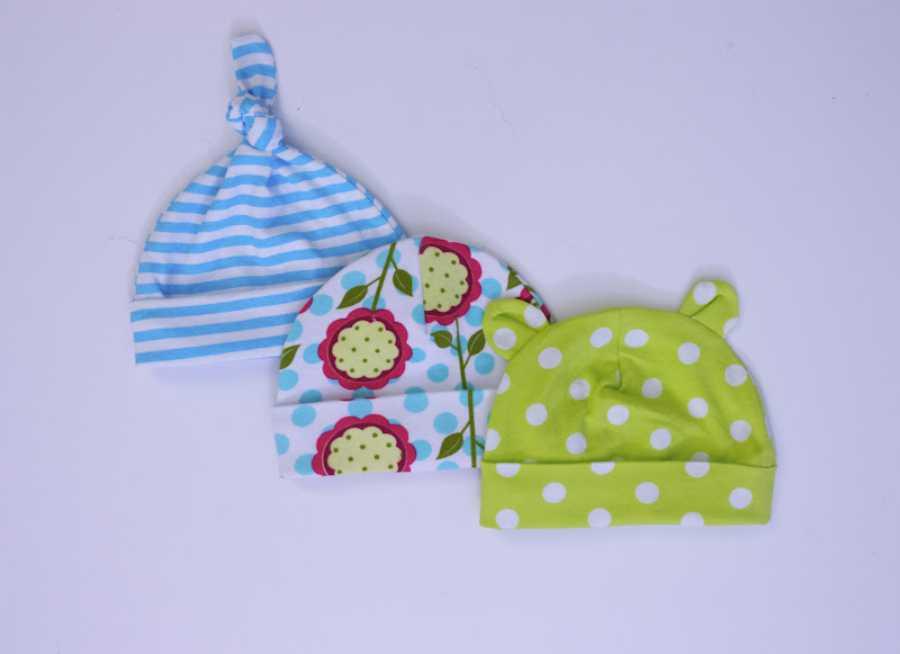 4188c115ea83d Plantillas gratis para hacer gorritos de bebé