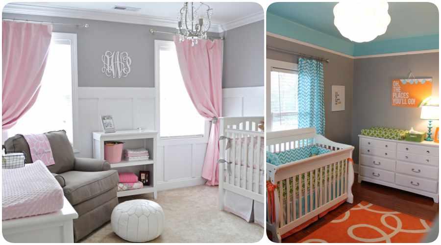 C mo elegir los colores para la habitaci n del beb for Habitacion bebe gris