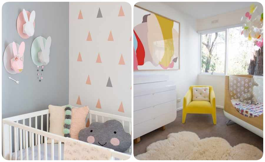 10 habitaciones de beb creativas y modernas - Habitaciones para bebe ...