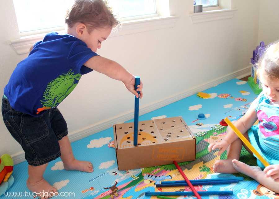 Hacer juguetes reciclados para psicomotricidad infantil
