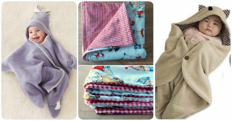 Cómo hacer una manta para bebé en casa