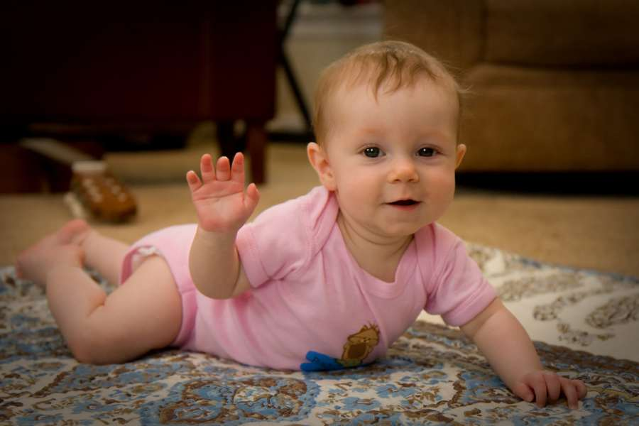 Cómo tomar fotos de bebés
