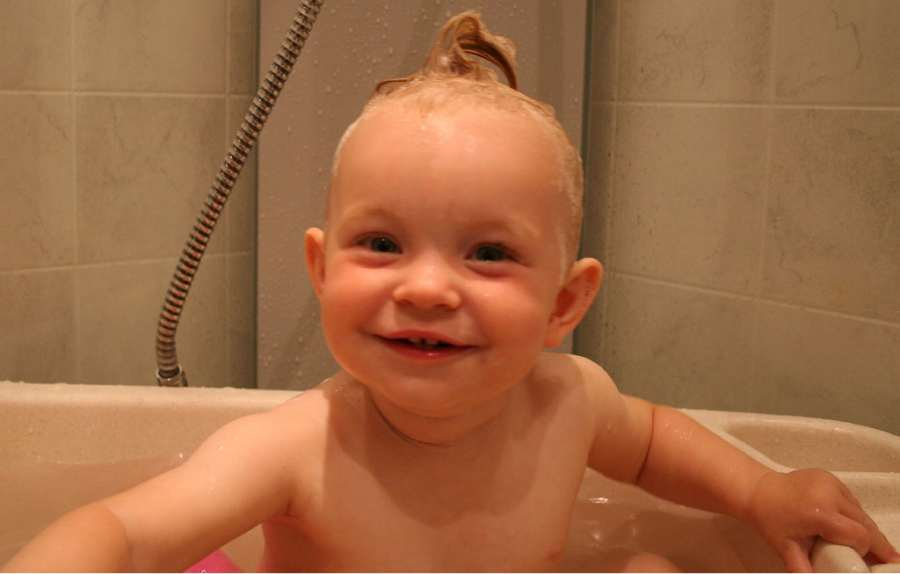 Fotos divertidas de bebés
