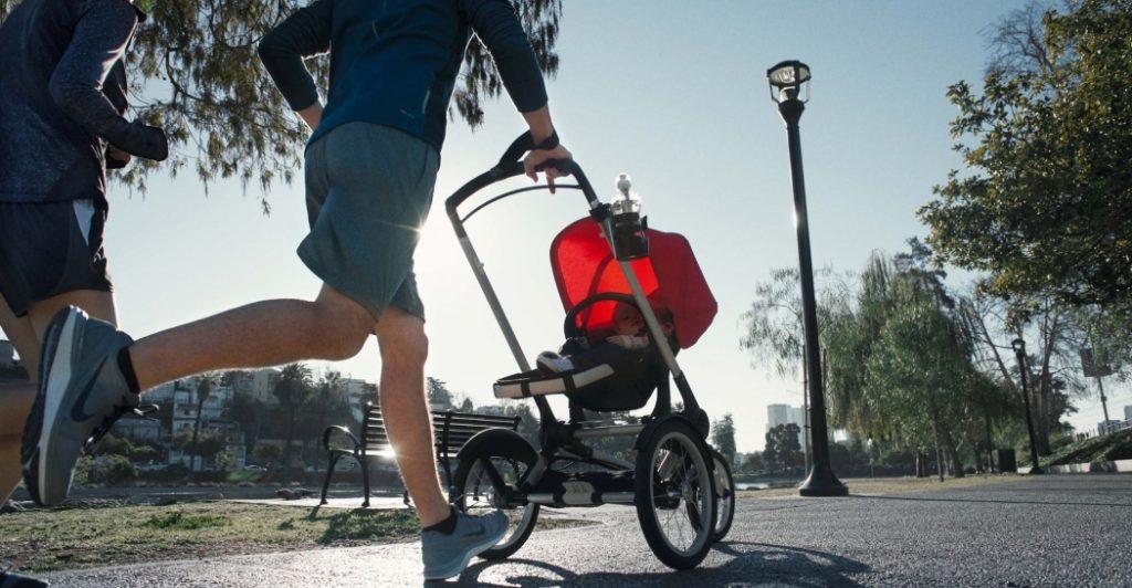 Carritos de bebé Bugaboo para atletas