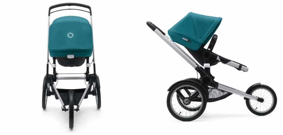 Bugaboo Runner, el cochecito para bebés y papás atletas