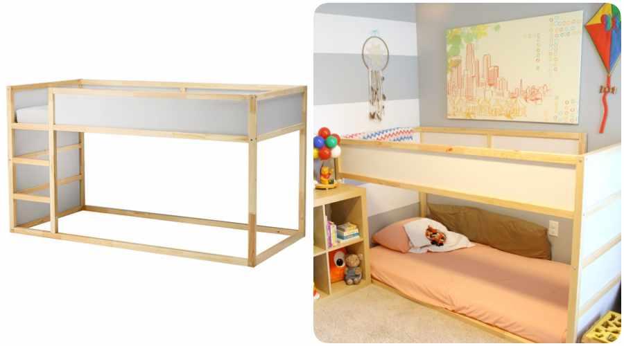 montessori en casa con cama ikea